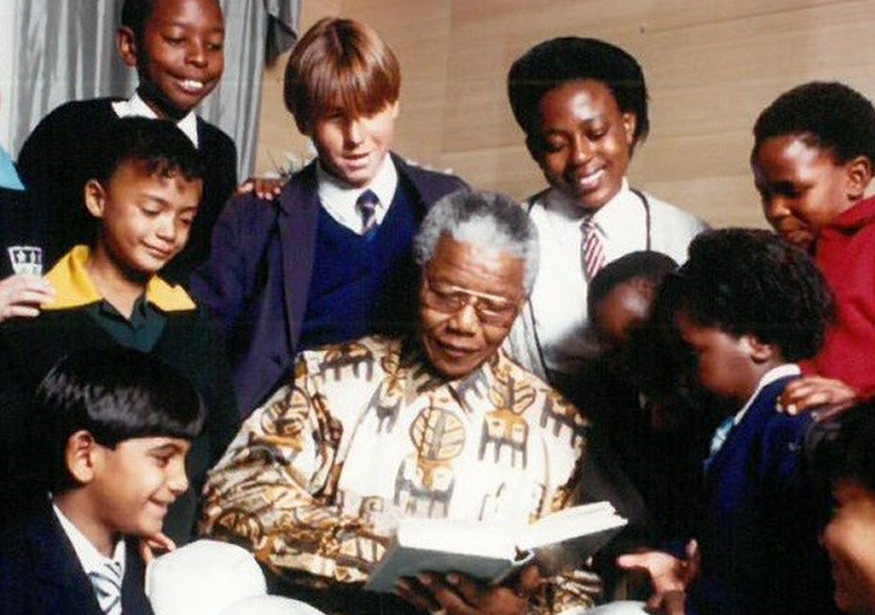 HONOURING MANDELA'S PURSUIT OF LITERACY FOR ALL