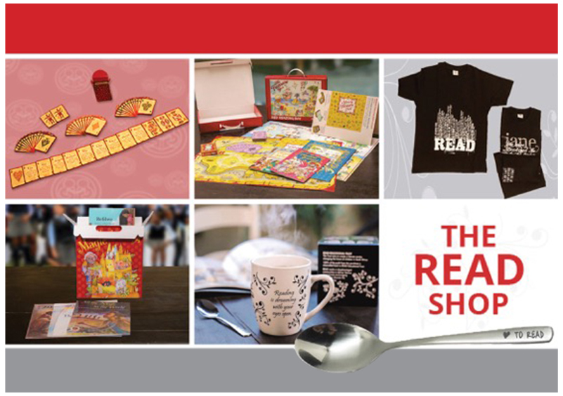 THE READ ONLINE SHOP TAKES LITERACY TO THE NEXT LEVEL